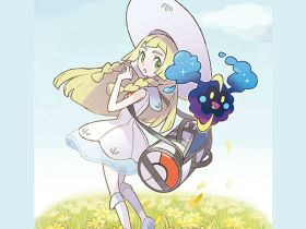 lillie-and-cosmog-art