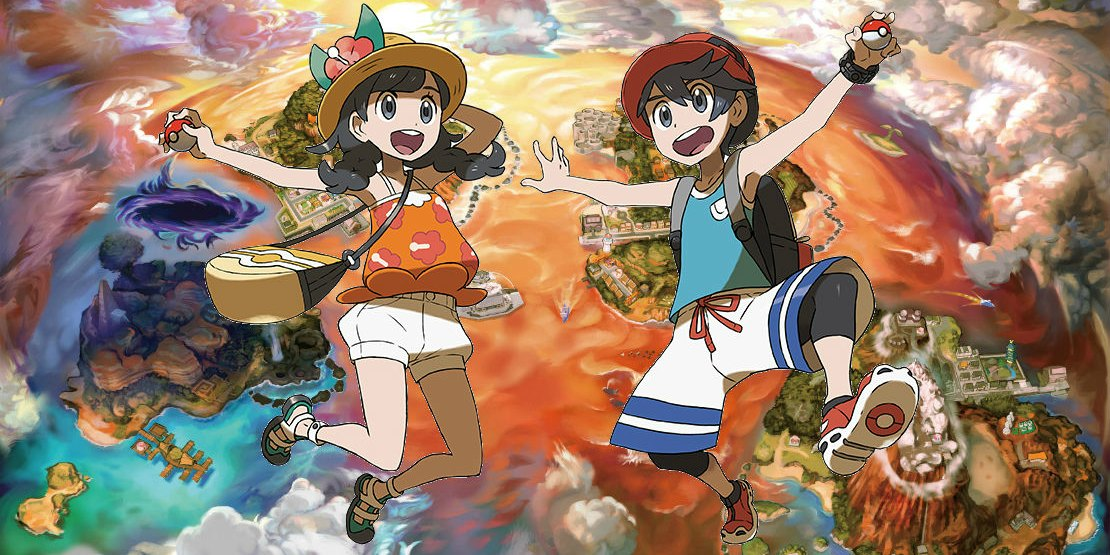 Pokémon Ultra Sun And Moon Hairstyles, Clothing And Trainer