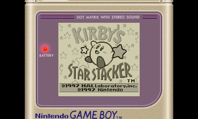 Kirby's Star Stacker Review Screenshot 1