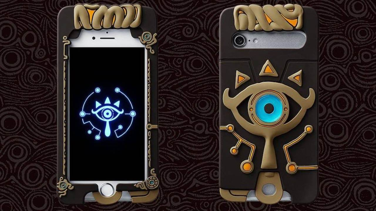 Turn Your Iphone Into A Sheikah Slate With This Official Case