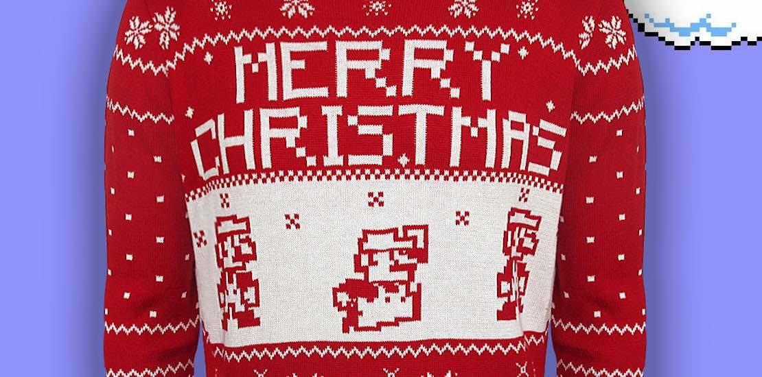 Nintendo Christmas.Nintendo Christmas Sweaters Will Get You In The Festive