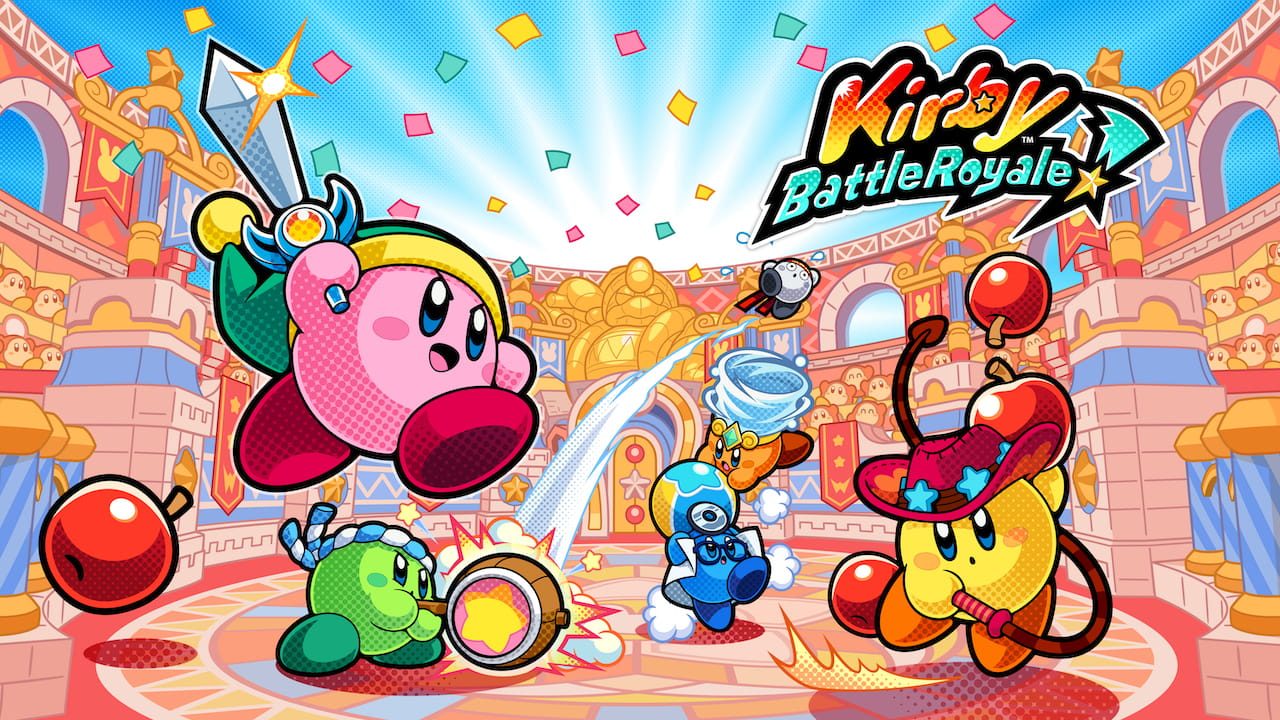 Kirby Battle Royale Review Header