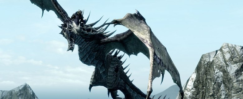 The Elder Scrolls V: Skyrim Review Header