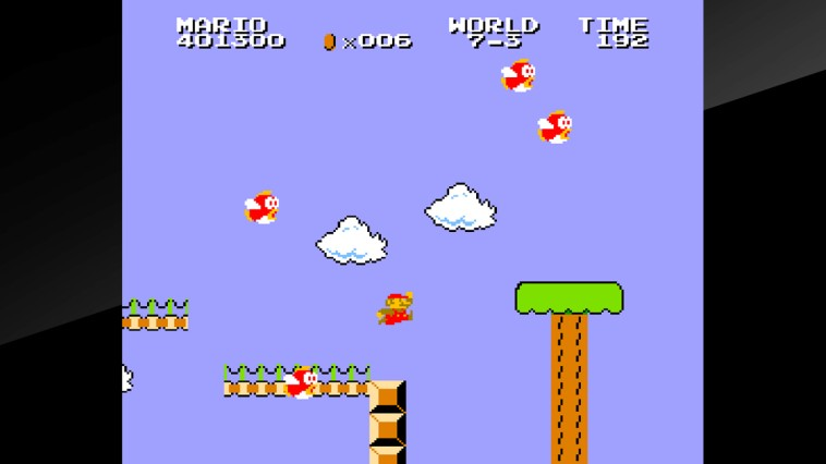 arcade-archives-vs-super-mario-bros-review-screenshot-1