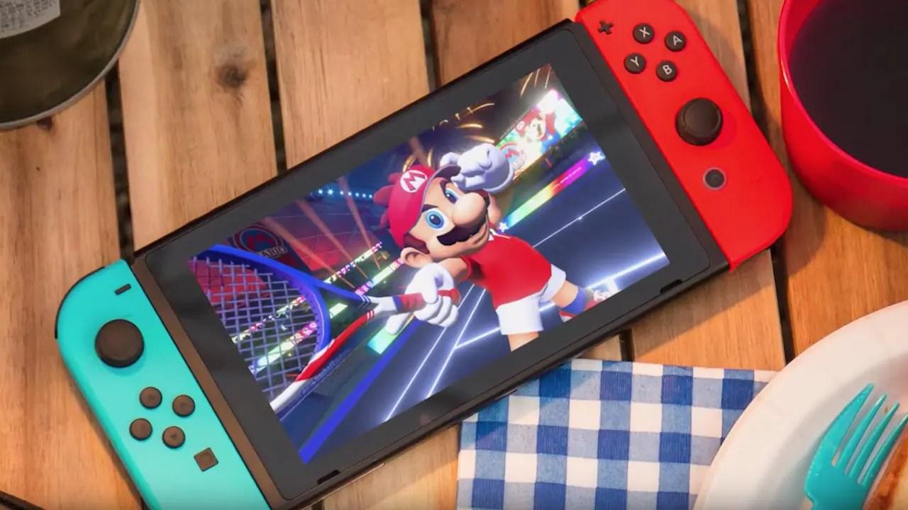 Mario Tennis Aces Nintendo Switch Image