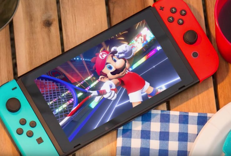 Mario Tennis Aces Nintendo Switch Image