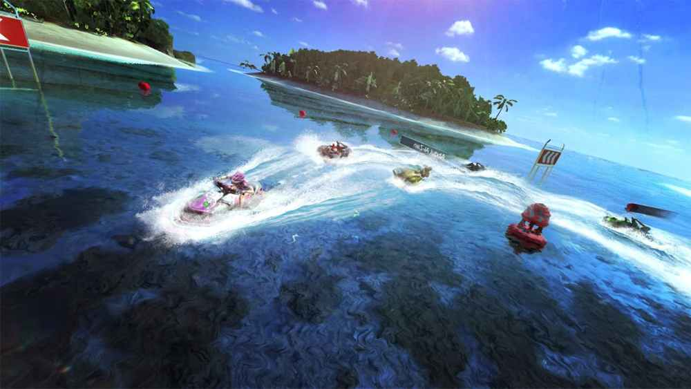 Aqua Moto Racing Utopia Review Screenshot 1