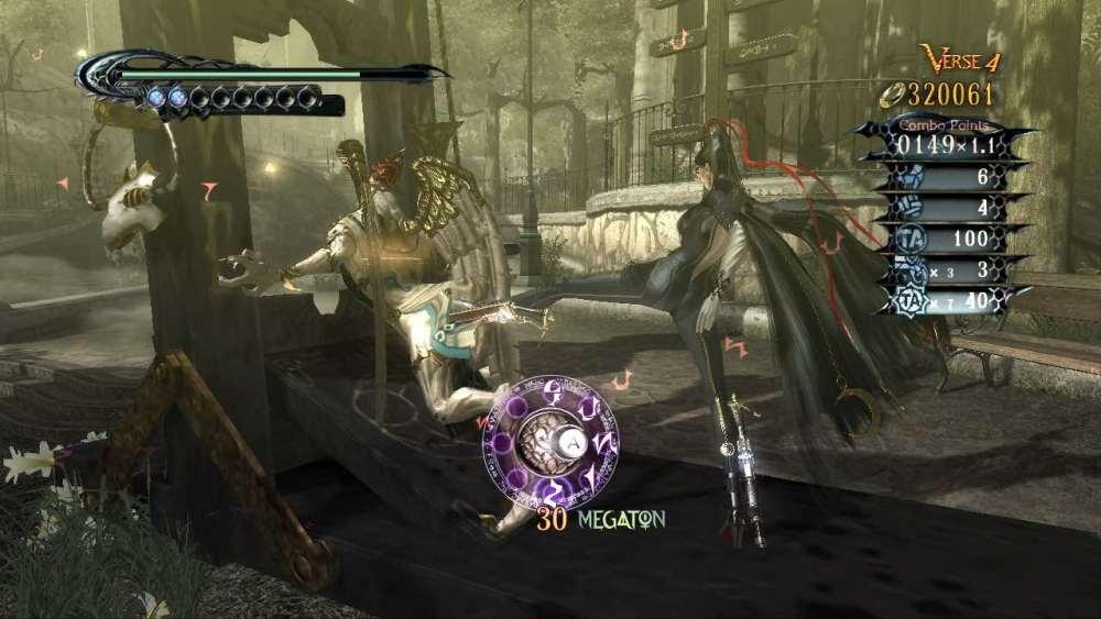 Bayonetta Review Screenshot 3