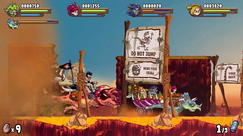 Caveman Warriors Review Screenshot 1