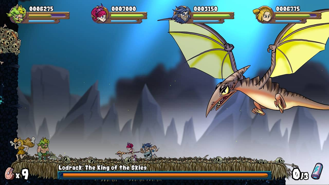 Caveman Warriors Review Screenshot 2