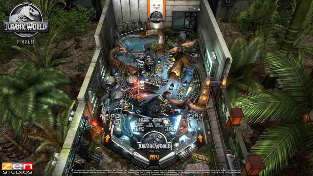 Jurassic Park Pinball Review Screenshot 2