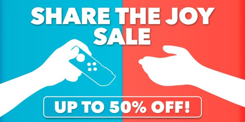 Share The Joy Switch eShop Sale Image