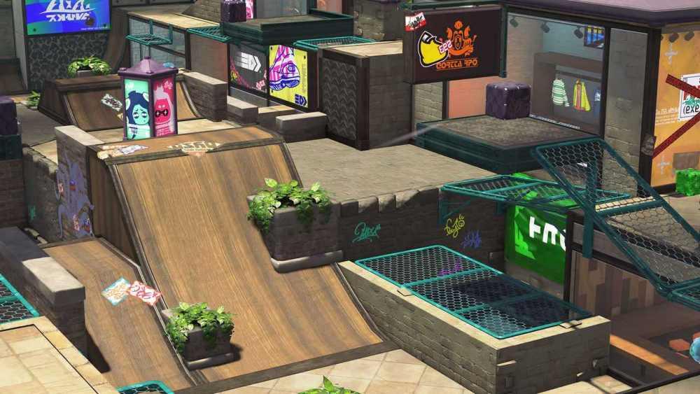 Splatoon 2 Arowana Mall Screenshot 4