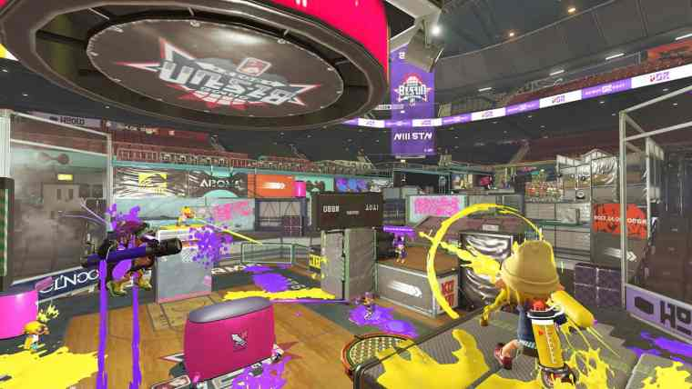 Splatoon 2 Goby Arena Screenshot 1