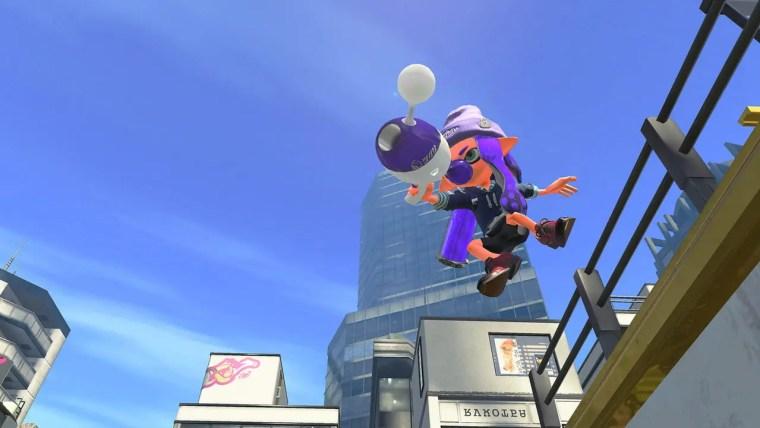 Splatoon 2 Luna Blaster Neo Screenshot 2