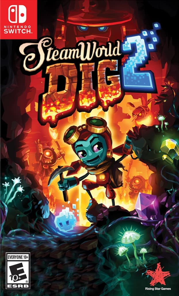 SteamWorld Dig 2 Switch Box Art Large