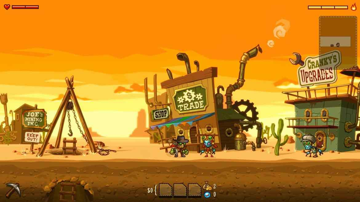 SteamWorld Dig Review Switch Screenshot 1