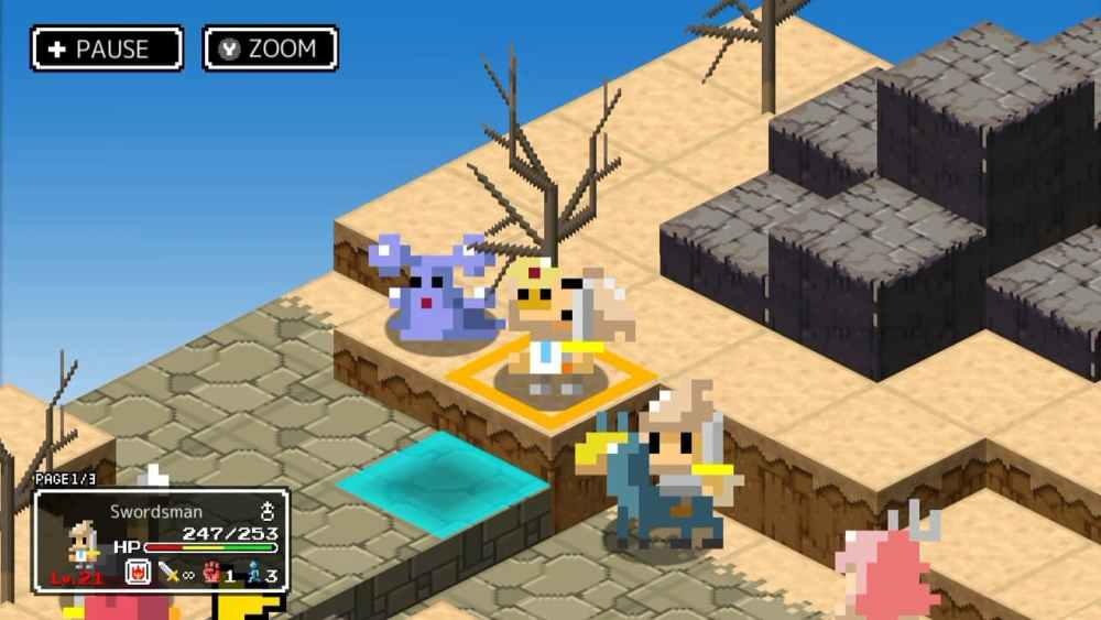 Ambition of the Slimes Review Screenshot 1