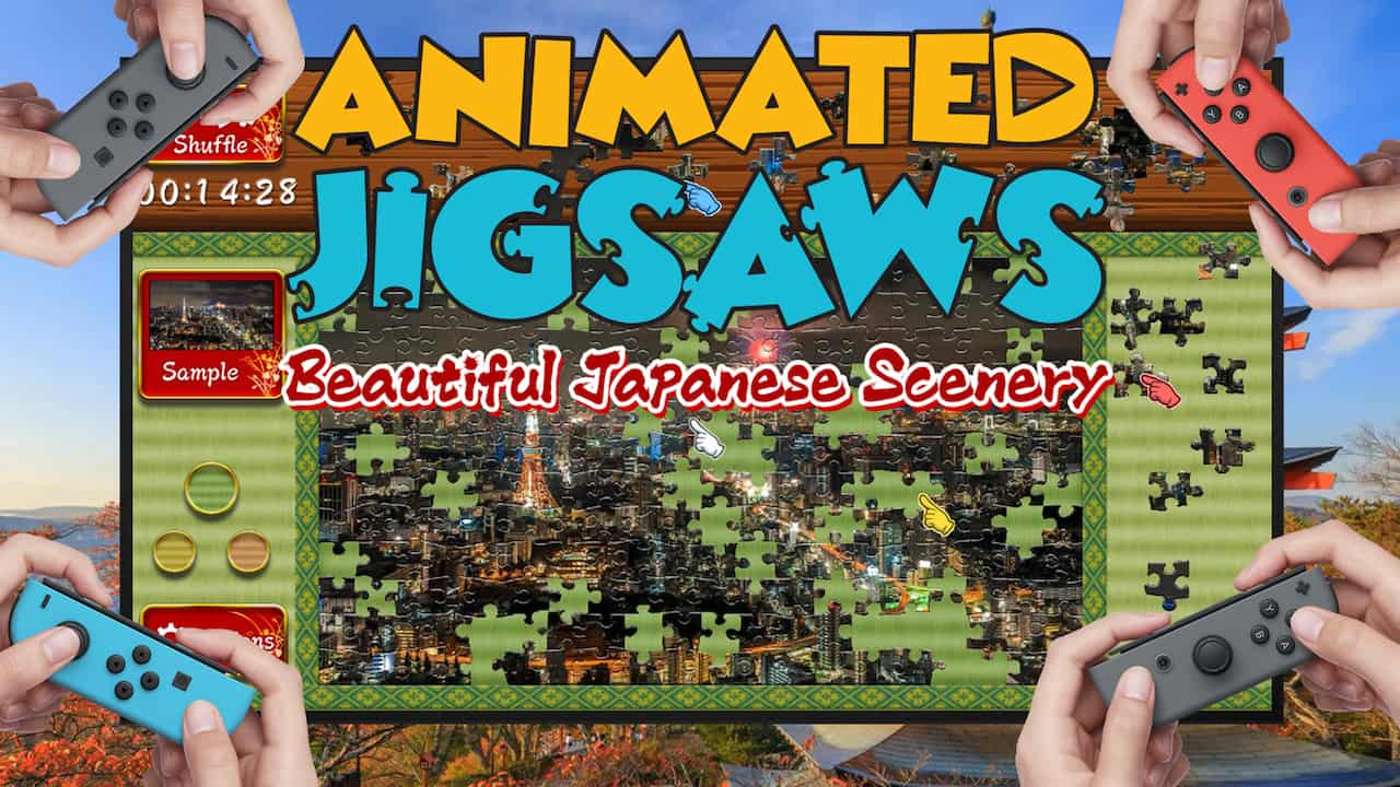 Animated Jigsaws: Beautiful Japanese Scenery Image