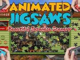 Animated Jigsaws: Beautiful Japanese Scenery Image
