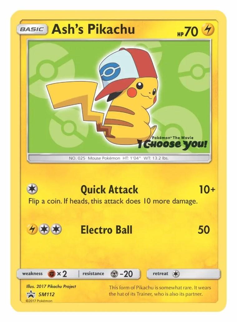 Ash's Pikachu Unova Cap Pokémon TCG Card Image