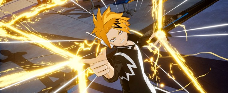 Denki Kaminari My Hero Academia: One's Justice Screenshot