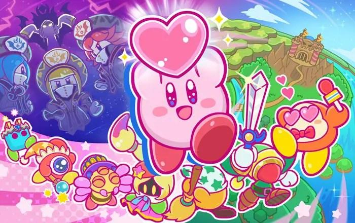 Kirby Star Allies Launch Artwork