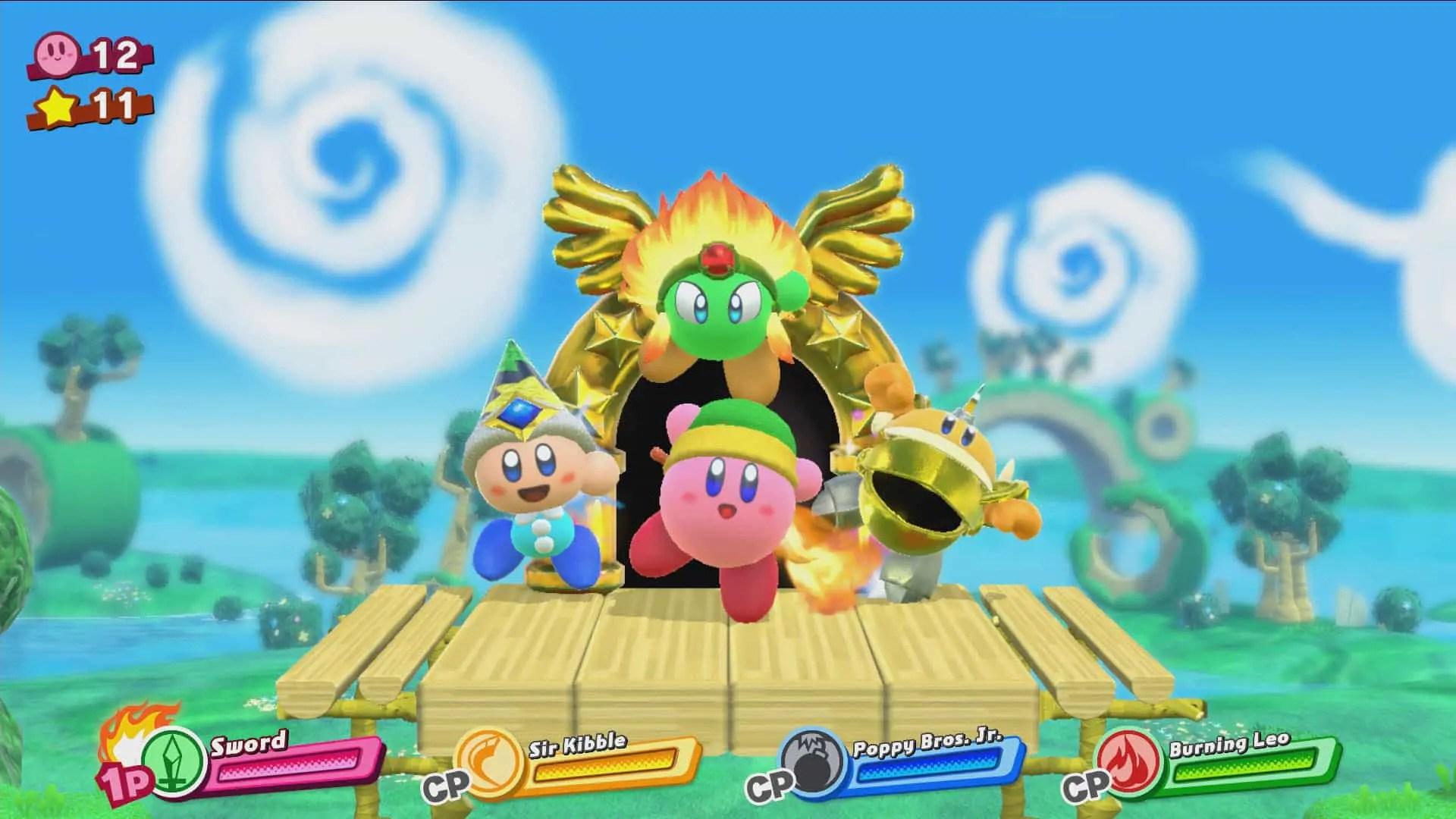 Kirby Star Allies Review Screenshot 1