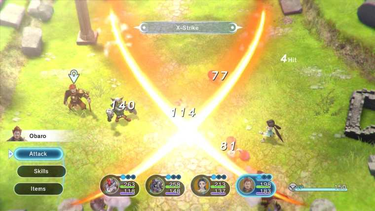 Lost Sphear Review Screenshot 2