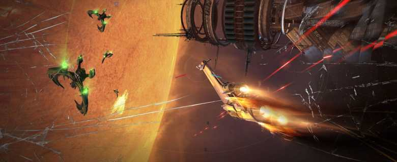 Manticore: Galaxy On Fire Screenshot