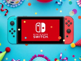 Nintendo Switch Birthday Photo