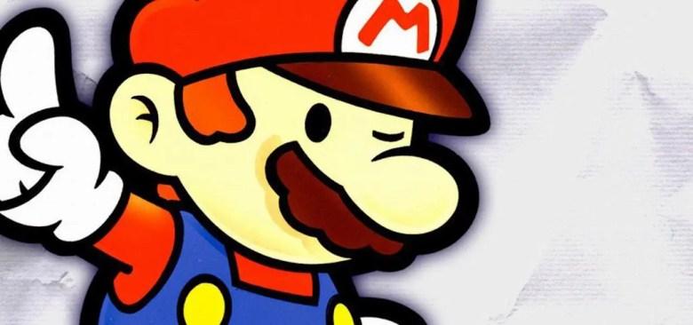 Paper Mario 64 Artwork