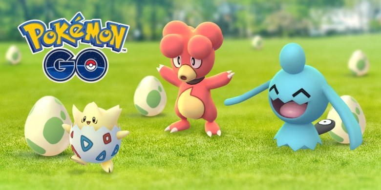 Pokemon GO Easter Event Image