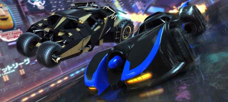 Rocket League DC Super Heroes DLC Pack Screenshot