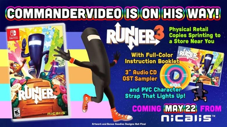 Runner3 Physical Release Artwork