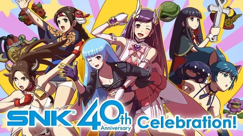 SNK 40th Anniversary Panel Image