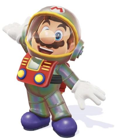 Super Mario Odyssey Satellaview Suit