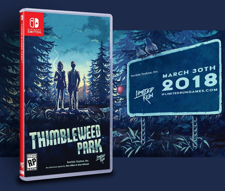 Thimbleweed Park Switch Box Art