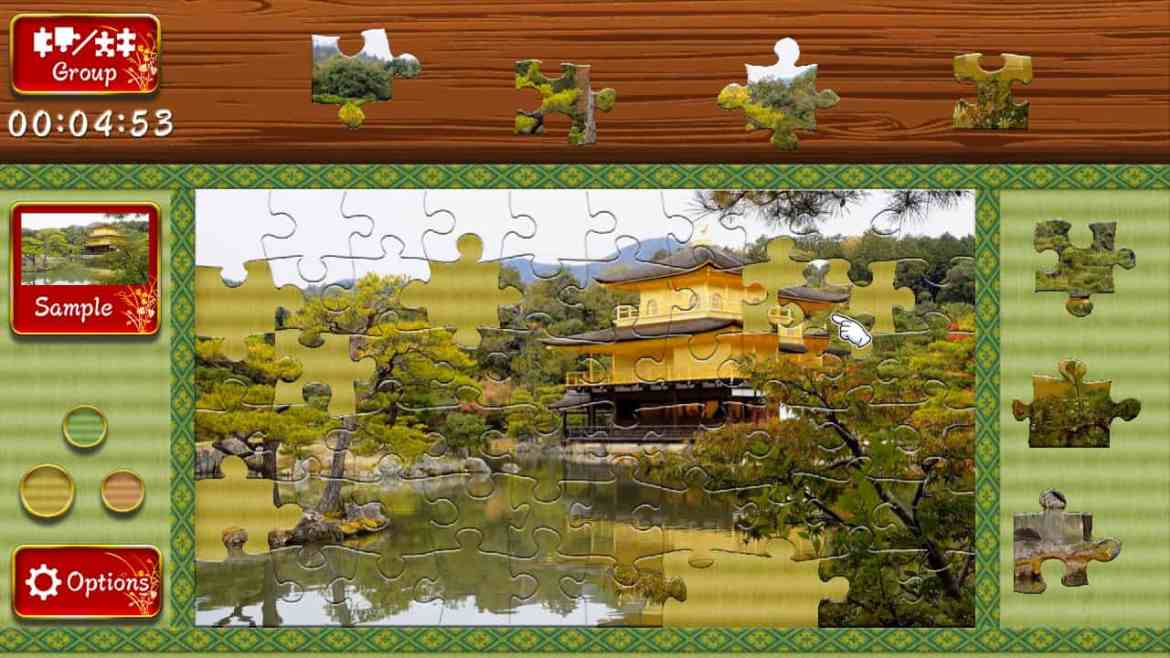 Animated Jigsaws: Beautiful Japanese Scenery Review Screenshot 1