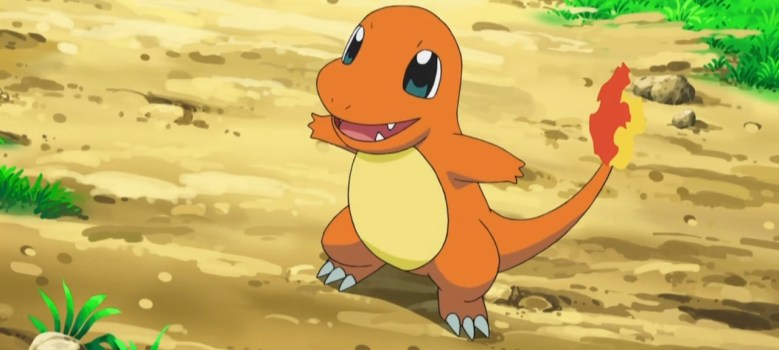 Charmander Pokémon Anime Screenshot