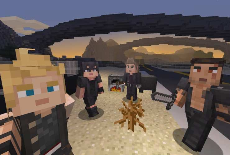 Minecraft Final Fantasy XV Skin Pack Screenshot
