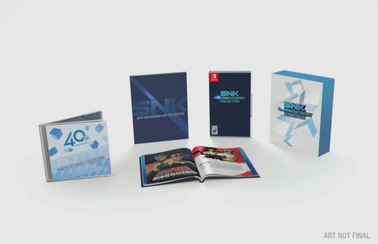 SNK 40th Anniversary Collection Photo