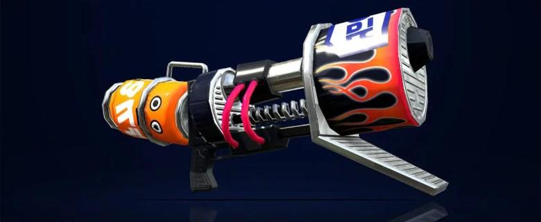 Splatoon 2 Custom Range Blaster