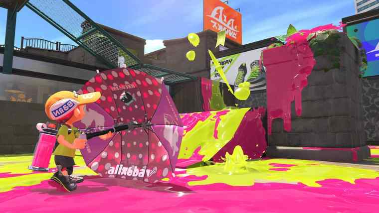 Splatoon 2 Sorella Brella Screenshot 1