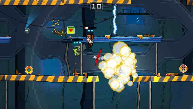 Super Rocket Shootout Review Screenshot 1
