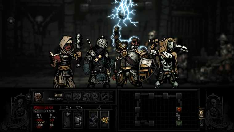 Darkest Dungeon Review Screenshot 1