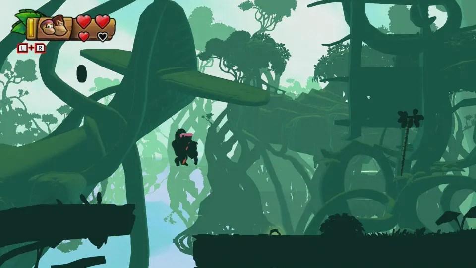 Donkey Kong Country: Tropical Freeze 1-B Busted Bayou Screenshot