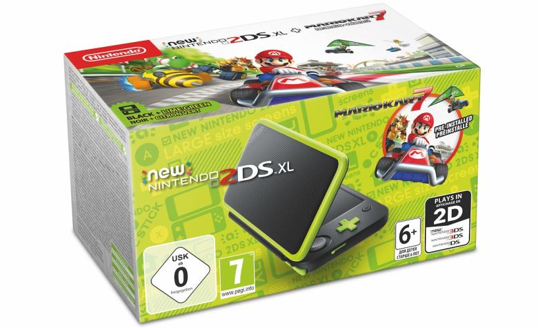 Mario Kart 7 New Nintendo 2DS XL Bundle