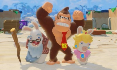 Mario + Rabbids Kingdom Battle: Donkey Kong Adventure Preview Header Screenshot