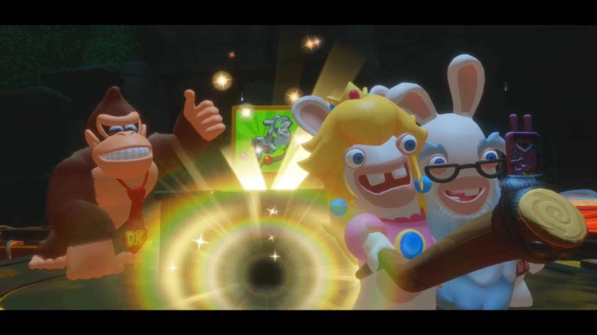 Mario + Rabbids Kingdom Battle: Donkey Kong Adventure Preview Screenshot 1